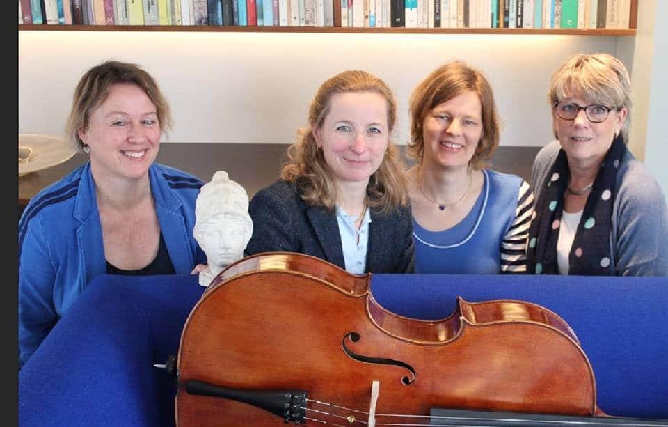 Minerva kwartet geeft concertlezing in de Theaterboerderij in Ekehaar zaterdag 9 november 20.00 uur.