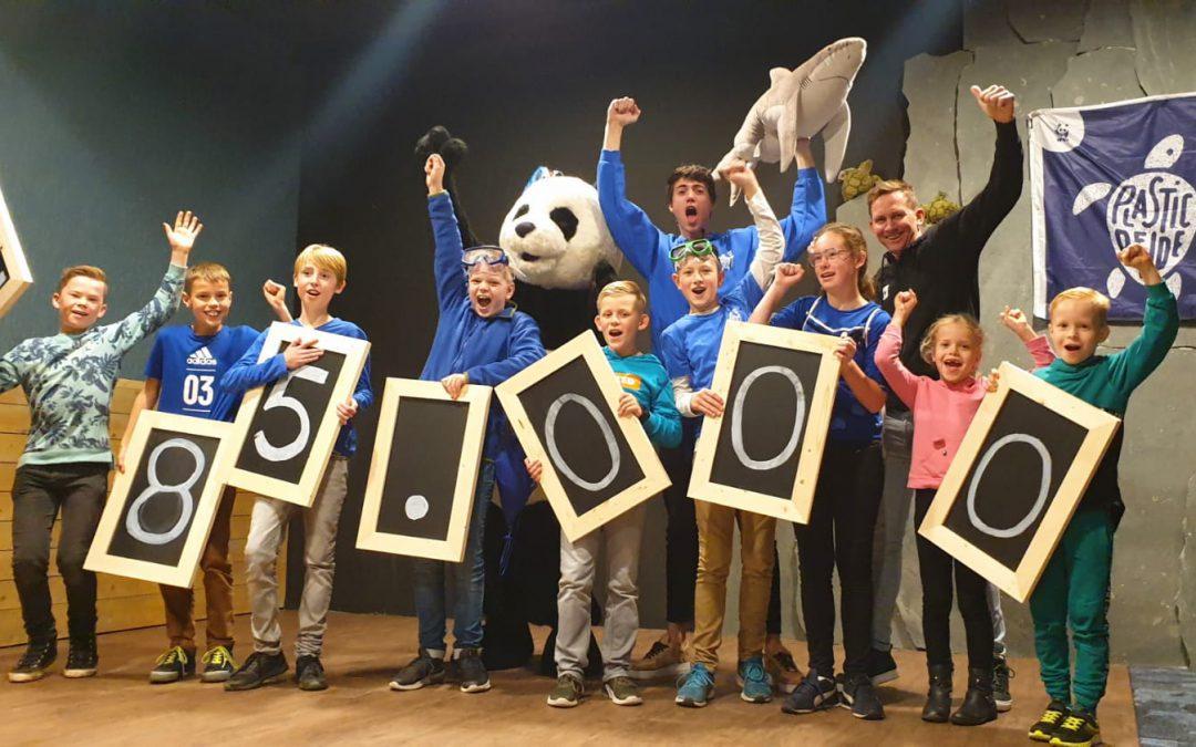 Plastic Bendeleden Tim en Olav uit Drenthe (Schoonloo) in top 5 beste actievoerders van Nederland