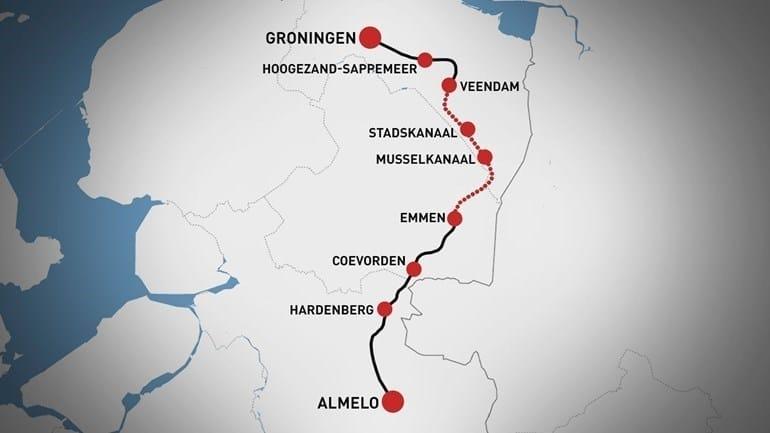 Zeven gemeenten onderzoeken Nedersaksenlijn